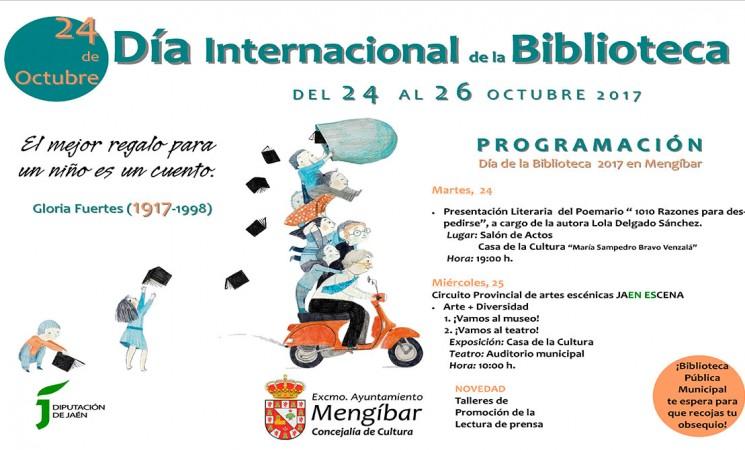 Programación especial con motivo del Día de la Biblioteca en Mengíbar
