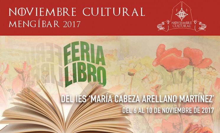 Feria del Libro en el Instituto María Cabeza Arellano Martínez de Mengíbar, del 6 al 10 de noviembre