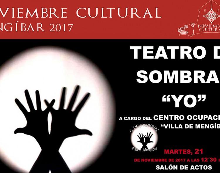El Centro Ocupacional de Mengíbar representará su teatro de sombras 'Yo', el martes 21 de noviembre