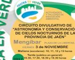 Planetario móvil, en la Plaza de la Libertad de Mengíbar, este viernes