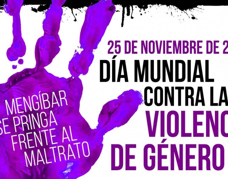 Estudiantes del IES María Cabeza Arellano Martínez, de Mengíbar, se 'pringan' contra la violencia de género