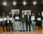 Entrega de diplomas a alumnos del curso de camarero organizado por la Diputación de Jaén en Mengíbar