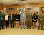Mengíbaracoge la exposición 'Defensa Nacional. La adaptación permanente de las Fuerzas Armadas'