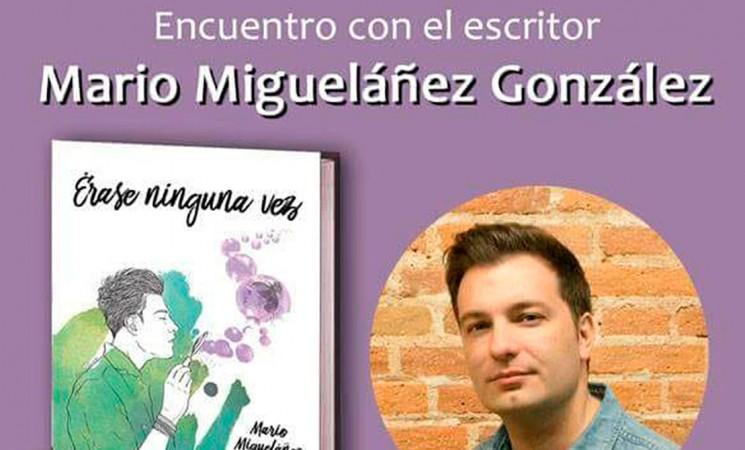 Encuentro literario con Mario Migueláñez, el miércoles 8 de noviembre