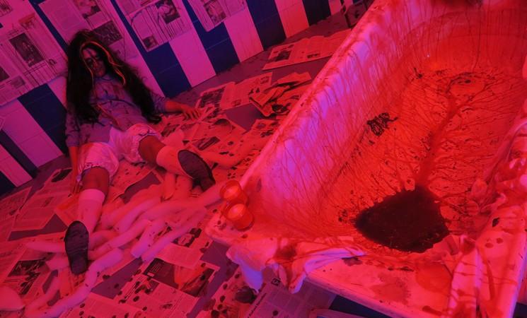 Galería fotográfica del Pasaje del Terror 'Pánico en el Pabellón' en Mengíbar