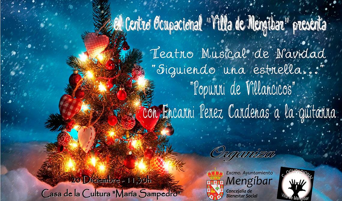 Teatro musical de Navidad del Centro Ocupacional Villa de Mengíbar ...