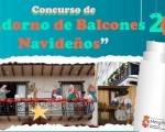 Abierto el plazo para participar en el Concurso de adorno de balcones navideños de Mengíbar