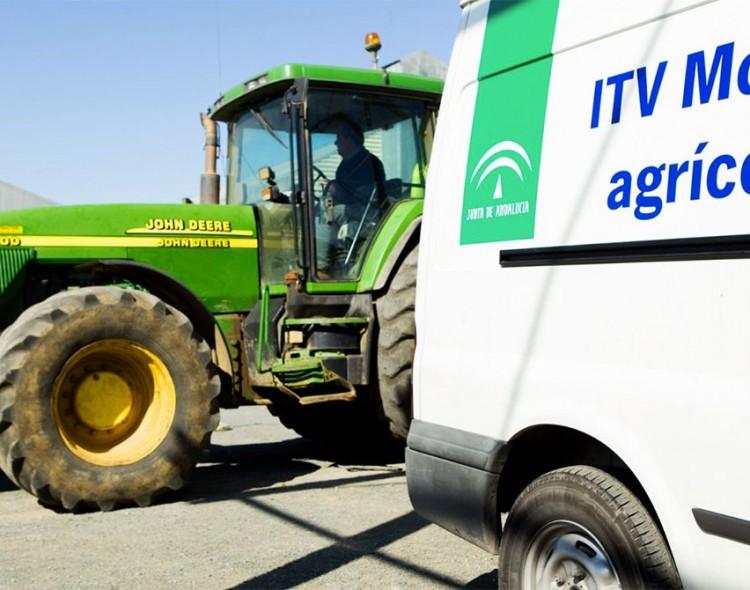 ITV móvil para vehículos agrícolas en Mengíbar los días 4 y 8 de enero de 2018