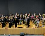La Banda de Iniciación de la Agrupación Musical de Mengíbar se estrena en el Concierto de Navidad
