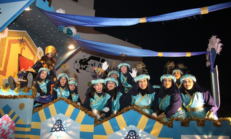Los Reyes Magos llegarán a Mengíbar con una cabalgata de trece carrozas