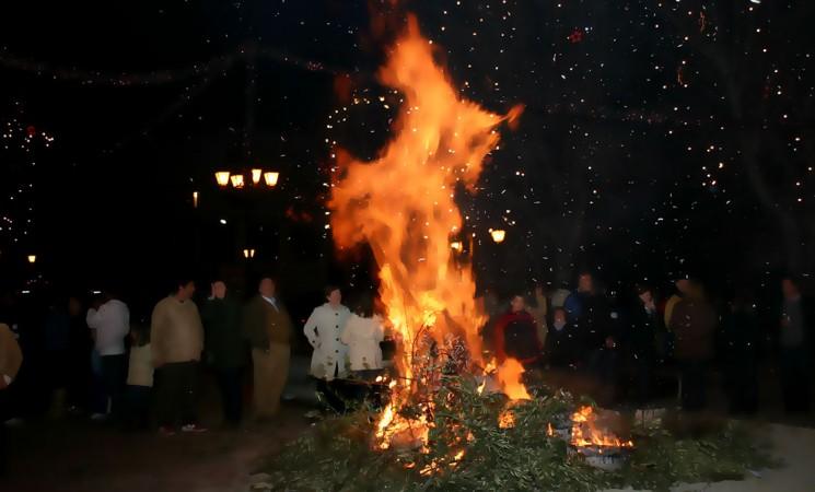 Bando del Ayuntamiento de Mengíbar con motivo de la fiesta de las lumbres de San Antón