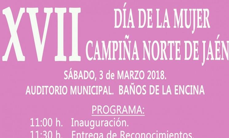 El Día de la Mujer de la Campiña Norte, el próximo 3 de marzo en Baños de la Encina