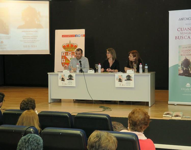 Antonio Reyes presenta su nuevo libro en Mengíbar