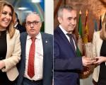 Representantes de Mengíbar en las Medallas de Andalucía