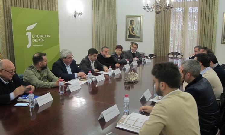 La Diputaciónaborda conlos municipios del Rumblar las medidas impulsadas para garantizar el abastecimiento