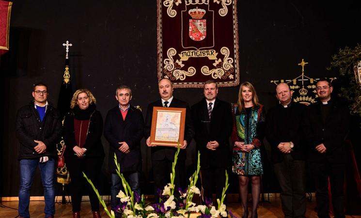 La Semana Santa de Mengíbar es pregonada por Francisco Delgado Sánchez (vídeo y fotografías)