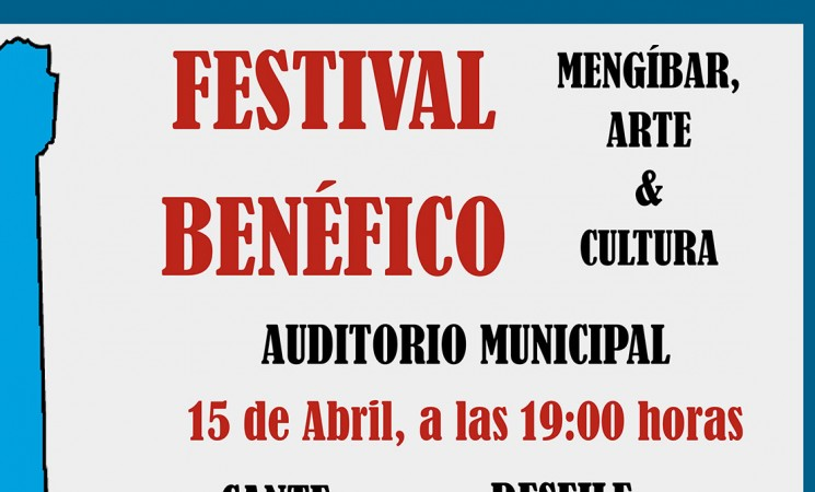 Festival benéfico 'Mengíbar, arte y cultura', el próximo 15 de abril