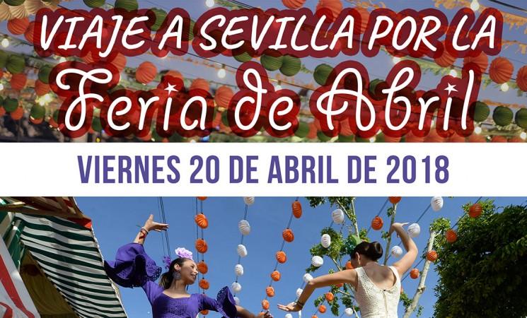 Viaje a Sevilla por la Feria de Abril para jubilados de Mengíbar