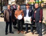 El XVIII Encuentro de vehículos históricos Ciudad de Andújar hace escala en Mengíbar