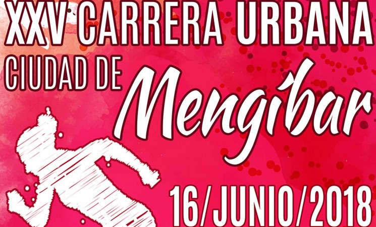Recorridos de la XXV Carrera Urbana Ciudad de Mengíbar del próximo 16 de junio