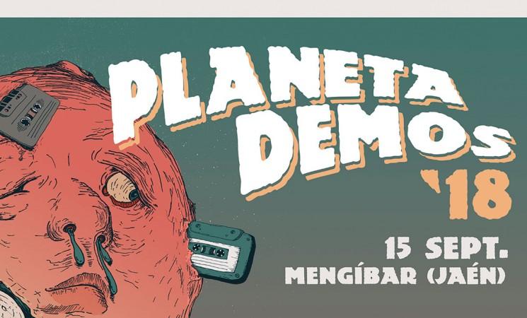 ¡Este es el cartel del Festival PlanetaDemos Mengíbar 2018!