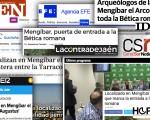 Repercusión mediática del descubrimiento del Arco de Jano en Mengíbar