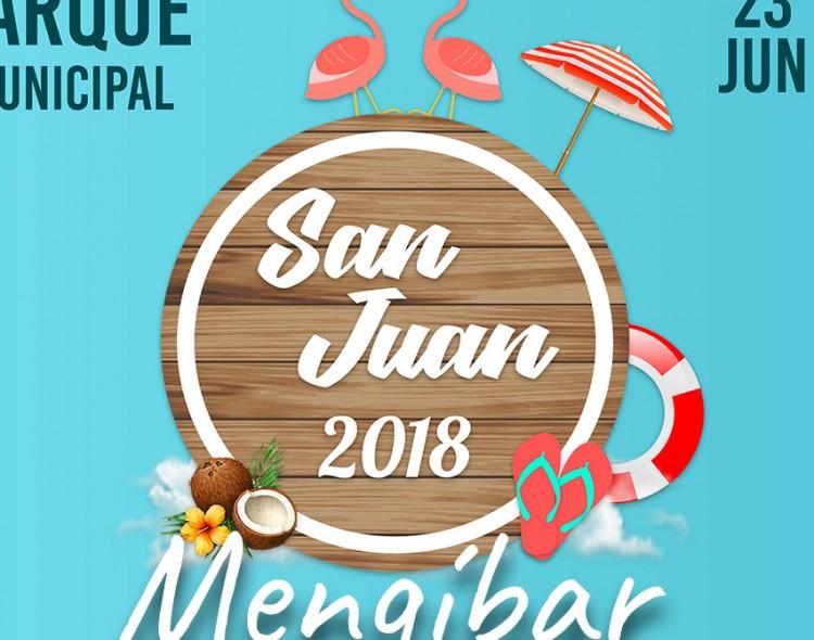 Tobogán gigante, fiesta de la espuma, música y 'pole dance' para celebrar el Día de San Juan en Mengíbar