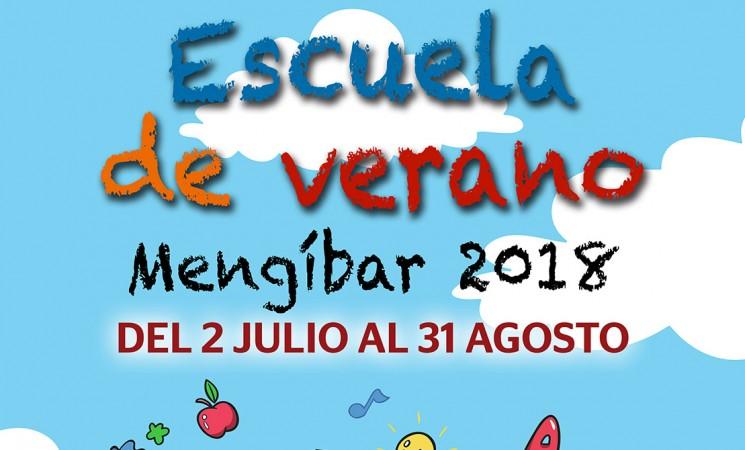 Las inscripciones para la Escuela de Verano de Mengíbar 2018, del 20 al 30 de junio