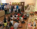 Exposición 'La prehistoria y los inventos', de estudiantes del Colegio Manuel de la Chica de Mengíbar