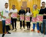 Presentación de la XXV Carrera Urbana Ciudad de Mengíbar, que se celebrará el próximo sábado 16 de junio