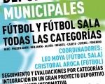 Abierto el plazo de inscripción para las Escuelas Deportivas Municipales de Fútbol y Fútbol Sala
