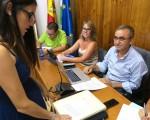 Pilar Medina Gámez toma posesión como nueva concejal del Ayuntamiento de Mengíbar