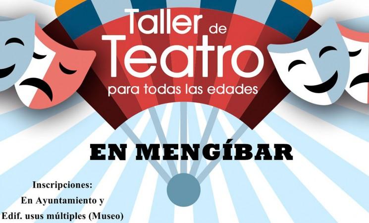 Regresa el Taller de teatro de Mengíbar para todas las edades