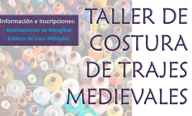 Nuevo Taller de costura de trajes medievales en Mengíbar