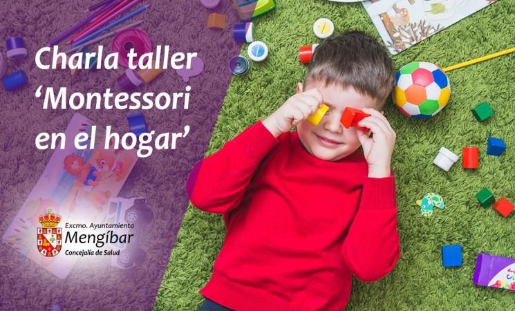 Charla vivencial 'Montessori en el hogar' en el Edificio de Usos Múltiples de Mengíbar