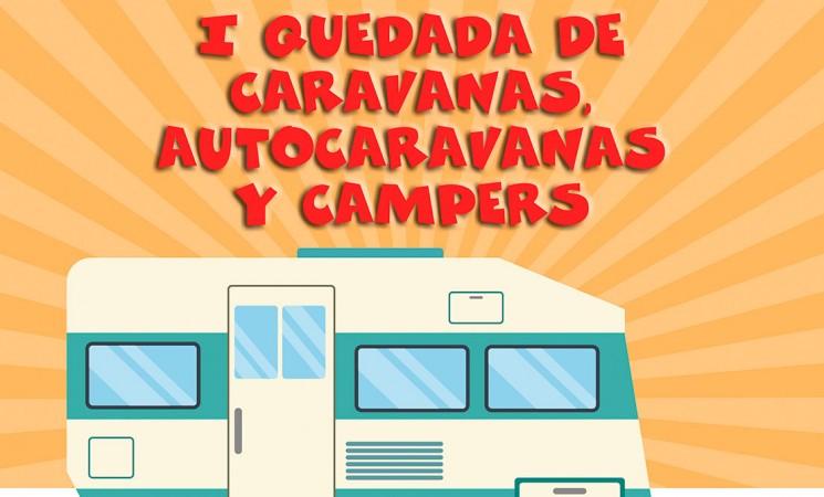 Primera quedada de caravanas, autocaravanas y campers de Mengíbar, en el Noviembre Cultural