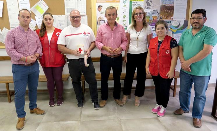 Celebración del Día de la Banderita de Cruz Roja en Mengíbar