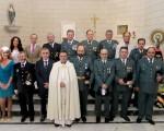Celebración del Día de la Guardia Civil por la festividad de la Virgen del Pilar en Mengíbar