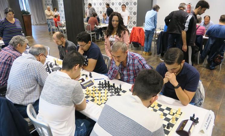 El mejor ajedrez jiennense se da cita en la Casa Palacio de Mengíbar
