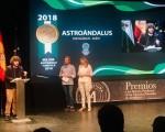 La empresa Astroándalus, de Mengíbar, premiada como Mejor Experiencia Turística 2018