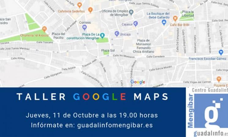 Taller de Google Maps para negocios y colectivos de Mengíbar en el Centro Guadalinfo