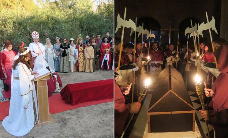 Mengíbar se prepara para vivir un fin de semana medieval con la recreación del cortejo fúnebre de Isabel la Católica y su panegírico