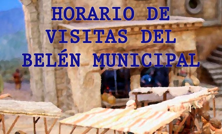 Horario de visitas del Belén Municipal de Mengíbar en la Casa Palacio