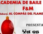 'Ya es Navidad', con la Academia de Baile F&M de Mengíbar, el próximo 19 de diciembre