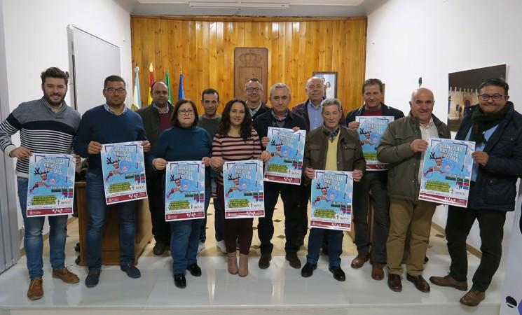 Presentación del Cuadrangular Benéfico de Fútbol Sala de Mengíbar, del próximo 28 de diciembre de 2018