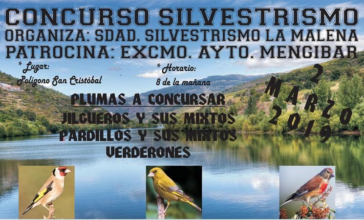 Concurso de silvestrismo en Mengíbar, el próximo 2 de marzo de 2019