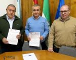 El Ayuntamiento de Mengíbar y Cruz Roja sellan de nuevo su acuerdo de colaboración para la prestación de servicios preventivos