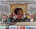 Marcha solidaria desde Mengíbar hasta la ermita de Santa Ana-Cristo de la Salud en Villargordo