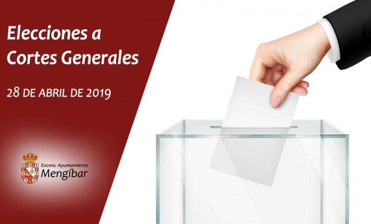 Mengíbar contará con una mesa electoral más en las Elecciones Generales 2019