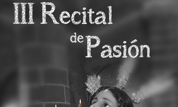 III Recital de Pasión, en el Auditorio de Mengíbar, el próximo 30 de marzo de 2019
